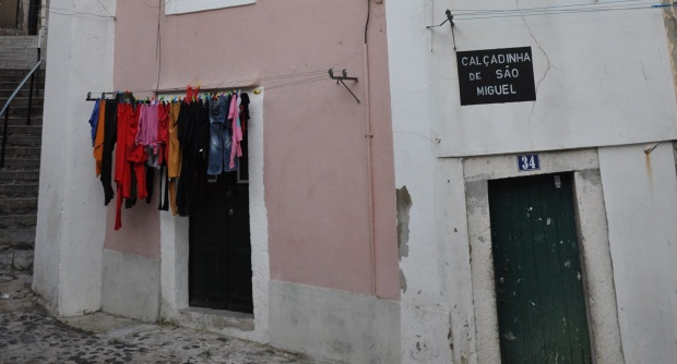 A calçadinha de São Miguel...